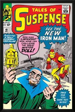 Tales of Suspense No.48 Cover: Iron Man and Mister Doll by Jack Kirby