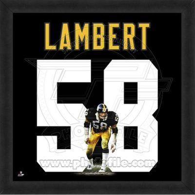 Jack Lambert, Steelers representation of the player's jersey