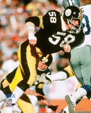 Jack Lambert Super Bowl X Action