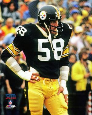 Jack Lambert Super Bowl XIII Action