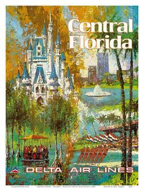 Central Florida - Orlando - Walt Disney World Resort - Delta Air Lines by Jack Laycox