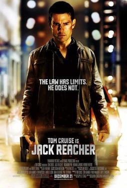 Jack Reacher (Tom Cruise) Movie Poster