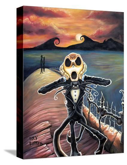 Jack Screams--Stretched Canvas Print