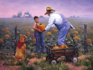Grandpas Pumpkins by Jack Sorenson