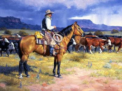 Great American Cowboy by Jack Sorenson