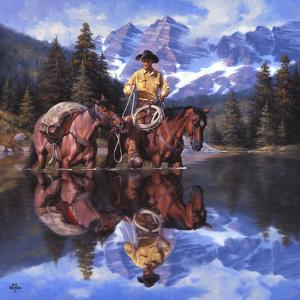 Reflections of the Rockies by Jack Sorenson