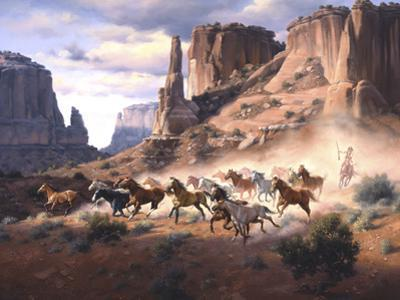Sandstone and Stolen Horses by Jack Sorenson