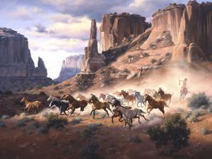 Sandstone and Stolen Horses by Jack Sorenson