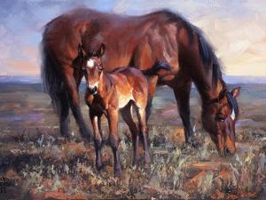 The Bay Filly by Jack Sorenson