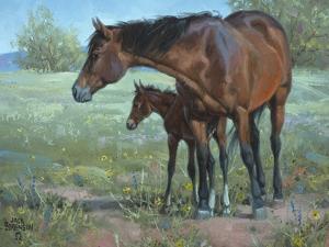 Under Mama's Watchful Eye by Jack Sorenson