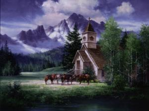 Western Church by Jack Sorenson