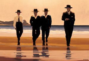 Billy Boys by Jack Vettriano