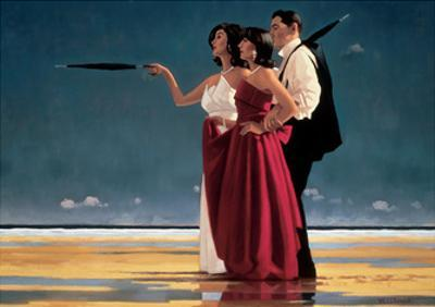 The Missing Man I by Jack Vettriano