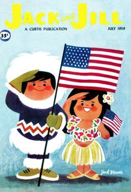 Alaska and Hawaii - Jack and Jill, July 1959 by Jack Weaver