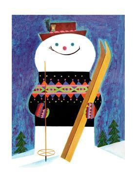 Skis for Snowman - Jack & Jill by Jack Weaver