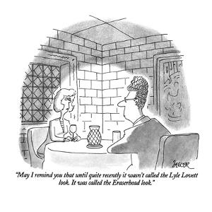 """""""May I remind you that until quite recently it wasn't called the Lyle Love…"""" - New Yorker Cartoon by Jack Ziegler"""