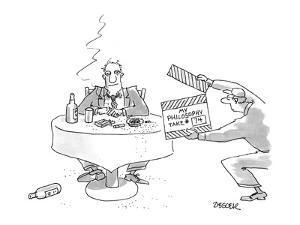 My Philosophy Take #74 - New Yorker Cartoon by Jack Ziegler