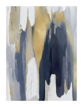 Converge Blue and Gold II by Jackie Hanson