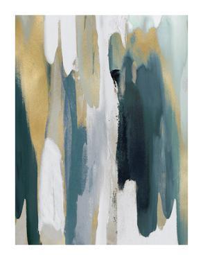Converge Teal II by Jackie Hanson