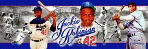 Jackie Robinson Panoramic Photo