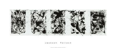 Black and White Polyptych by Jackson Pollock