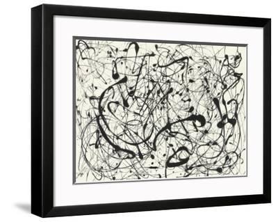 No. 14 (Gray) by Jackson Pollock