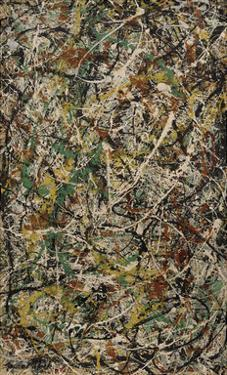 Number 3, 1949: Tiger, 1949 by Jackson Pollock