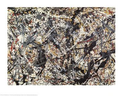 Painting by Jackson Pollock