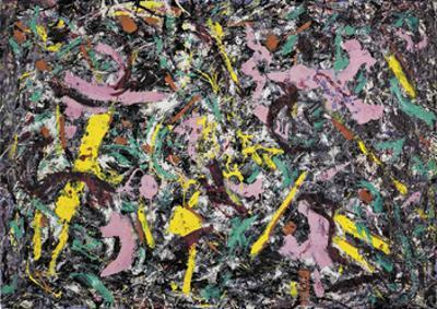 Unformed Figure, 1953  by Jackson Pollock