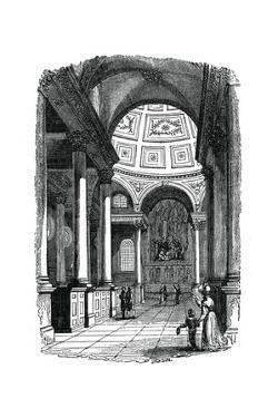St Stephen's Church, Walbrook, London, 1833 by Jackson