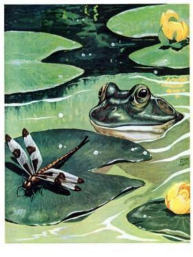 """""""Dinnertime!,""""June 10, 1939 by Jacob Bates Abbott"""