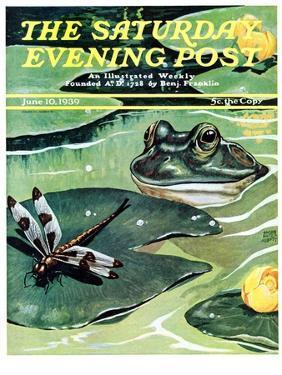 """Dinnertime!,"" Saturday Evening Post Cover, June 10, 1939 by Jacob Bates Abbott"