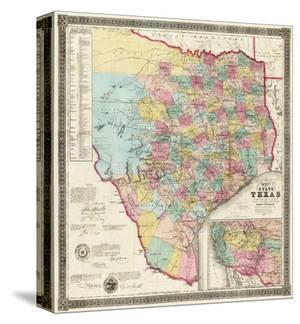 The State of Texas, c.1856 by Jacob De Cordova