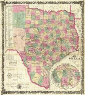 The State of Texas, c.1867 by Jacob De Cordova