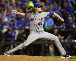 Jacob deGrom Game 2 of the 2015 World Series