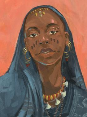 Wodaabe Woman I by Jacob Green