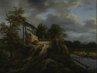 Bridge with a Sluice, 1648-9