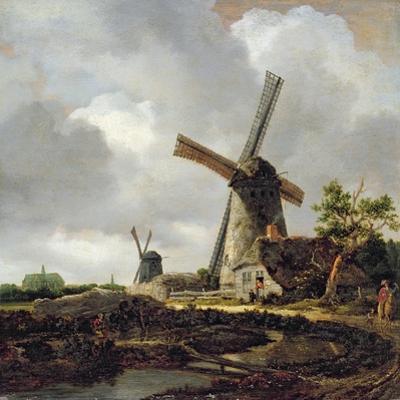 Landscape with Windmills, Near Haarlem, C.1650-52
