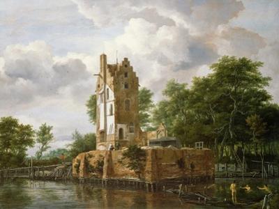 View of Kostverloren Castle on the Amstel