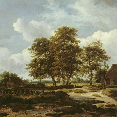 Wooded Landscape with Cornfields, C.1655-60