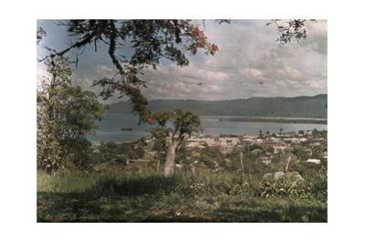 A View of Montego Bay by Jacob J. Gayer