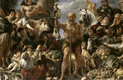 Diogenes of Sinope by Jacob Jordaens
