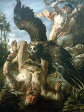 Prometheus Bound, C1640 by Jacob Jordaens