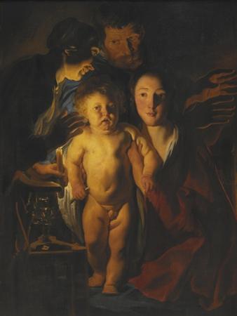 The Holy Family, c.1621-2 by Jacob Jordaens