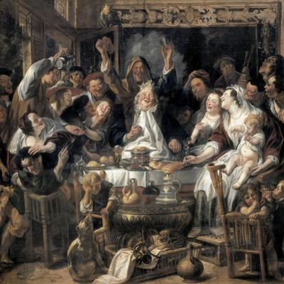 The King Drinks by Jacob Jordaens