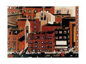 Harlem, 1942 by Jacob Lawrence