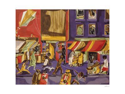 Street Scene (Boy with Kite), 1962