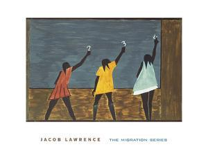 The Migration Series, No. 58, 1941 by Jacob Lawrence