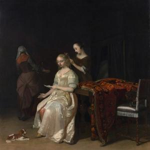 The Love Letter by Jacob Ochtervelt