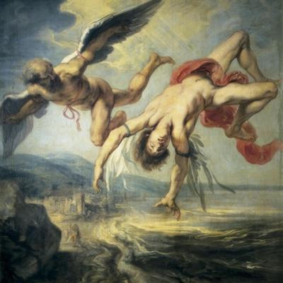 The Fall of Icarus by Jacob Peter Gowi
